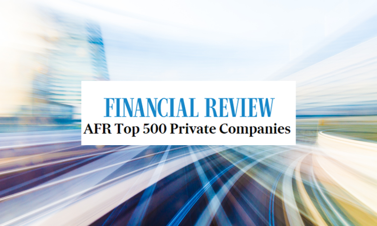 Finite920's Parent in the AFR Top 500 Private Companies List 2020